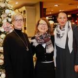 Kathrin Möller (Laverana), Iris Mueller (G+J) und Gianfranca Puddu (SPRLC HH GmbH) sind auch in diesem Jahr gern gesehene Gäste.