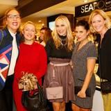 Was für eine schöne Damenrunde: Frie Kicherer (GALA Beauty-Chefin), Evelyn Mohr (La Biosthétique), Anne Meyer-Minnemann (GALA-Chefredakteurin), Sara el Raddaf (La Biosthétique) und Katja Rechner (Riani) kennen und schätzen sich schon lange.