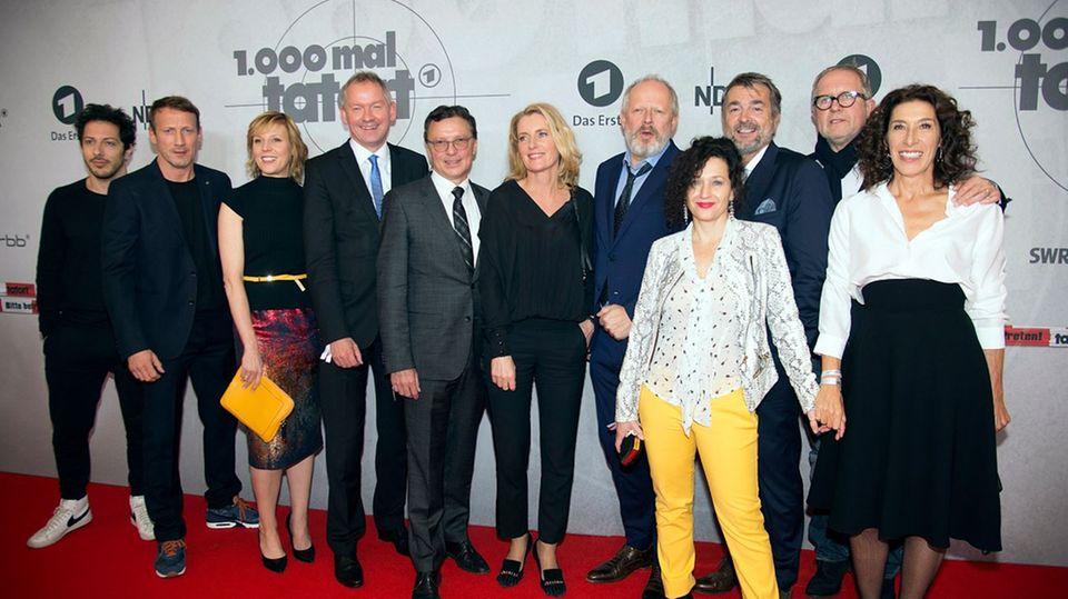 """""""Tatort""""-Ermittler und Verantwortliche"""