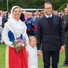 Prinzessin Victoria, Prinzessin Estelle + Prinz Daniel