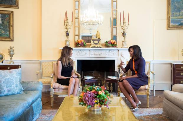 Melania Trump, Michelle Obama
