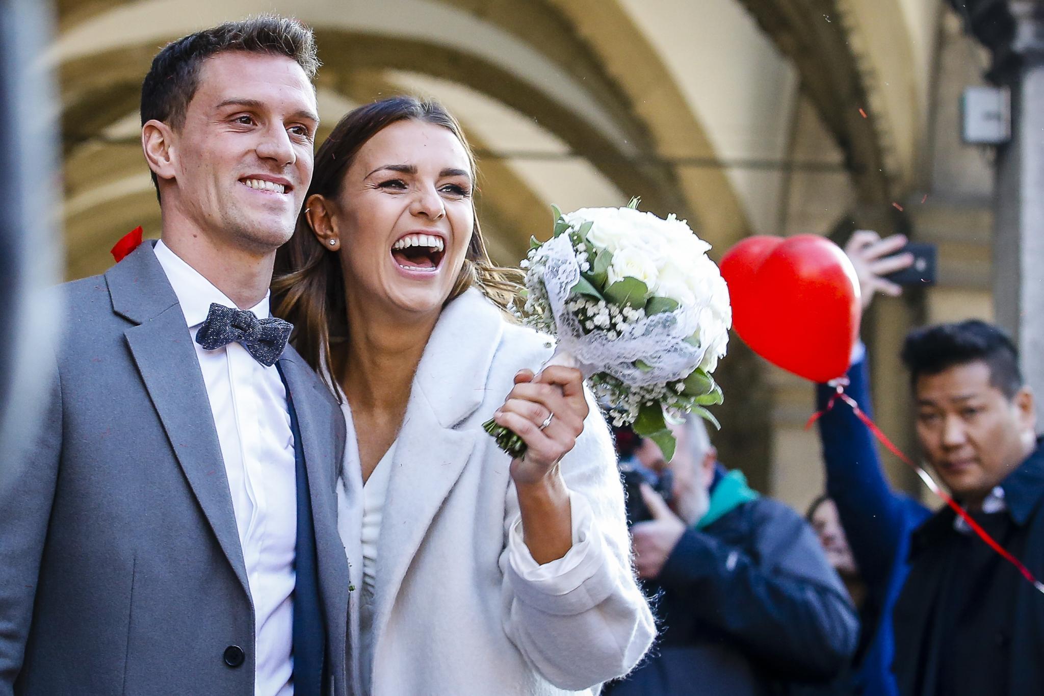 Simon Zoller und Laura Wontorra