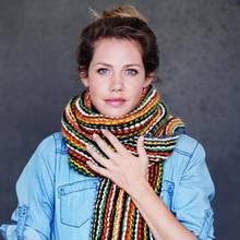 felicitas woll untersttzt die ein schal frs leben kampagne - Dunja Hayali Lebenslauf