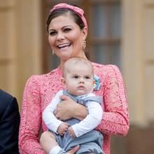 Prinzessin Victoria mit Sohn Oscar