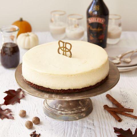 Cheesecake mit Baileys Pumpkin Spice