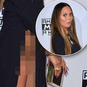 Chrissy Teigen: Sie äußert sich zur Nackt-Panne