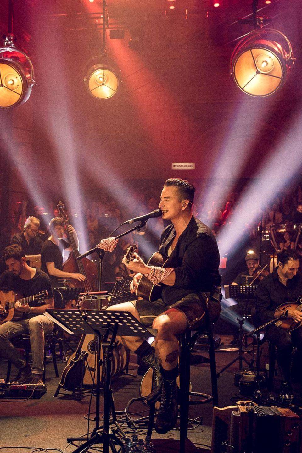 "Andreas Gabalier bei ""MTV Unplugged"""