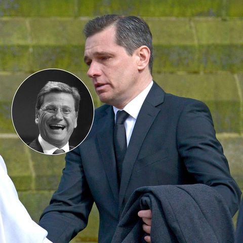Michael Mronz gedenkt dem verstorbenen Guido Westerwelle