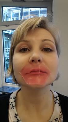 Das Kiss Kiss Lovely Lip Patch von Tony Moly