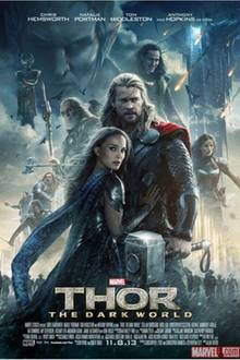 "Filmplakat ""Thor 2 - The Dark Kingdom"""