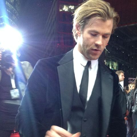 "Chris Hemsworth bei der ""Thor - The Dark Kingdom""-Premiere in Berlin"