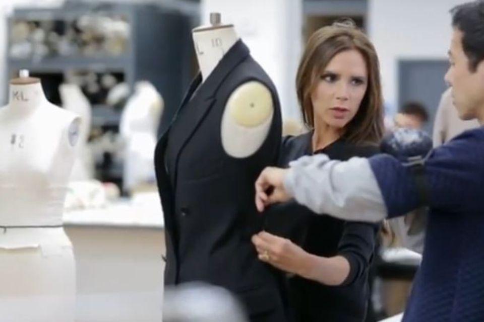 Victoria Beckham im Atelier