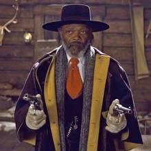 "Samuel L. Jackson in ""Hateful Eight"""