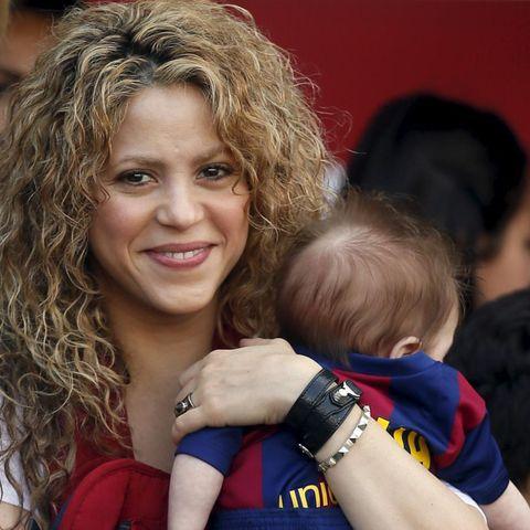 Shakira + Sasha