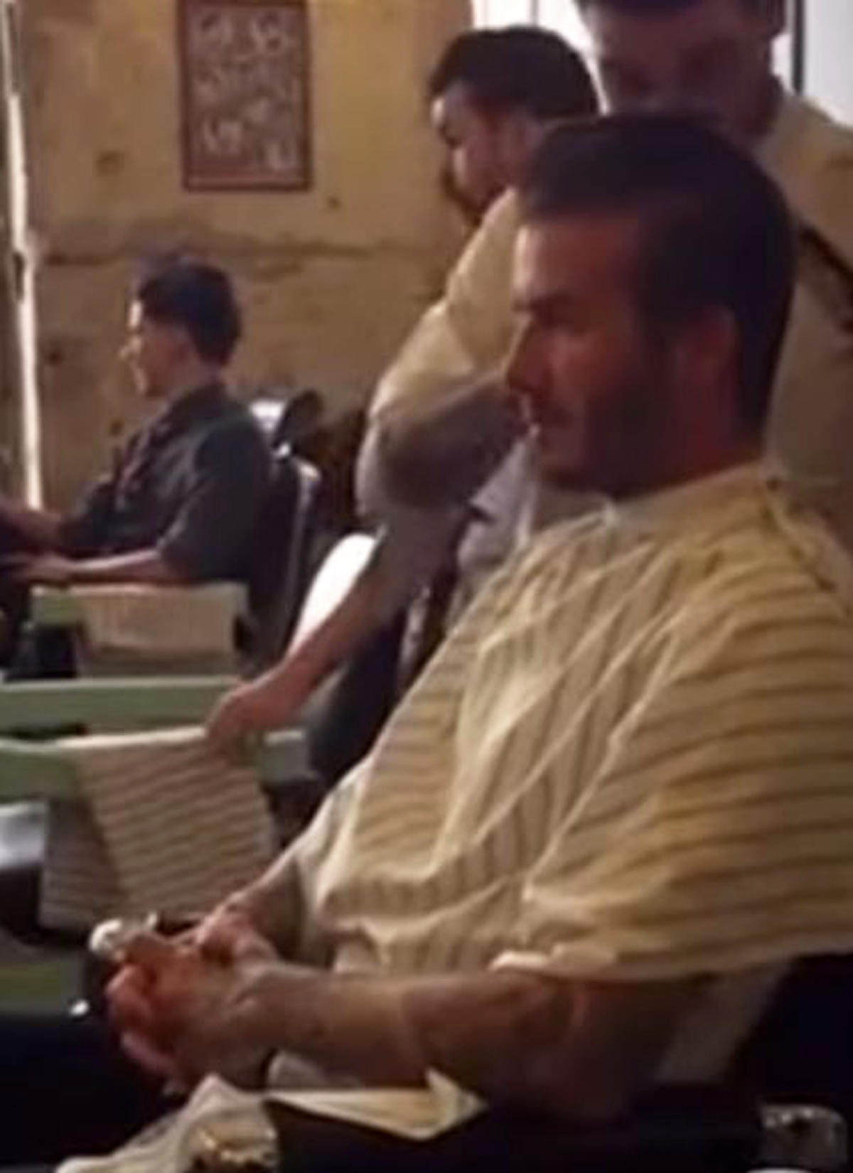 David Beckham Er Nimmt Uns Mit Zum Friseur Galade