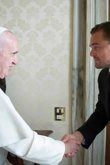 Papst Franziskus, Leonardo DiCaprio