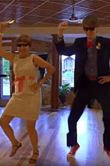 Ist das der beste Mutter-Sohn-Tanz, den es gibt?