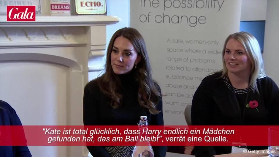 Herzogin Catherine: Das hält sie wirklich von Meghan Markle
