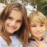 24. November 2016   Happy Thanksgiving wünscht Alessandra Ambrosio ihren Fans und zeigt mit einem Foto ihrer Kinder Anja und Noah wofür sie sehr dankbar ist.