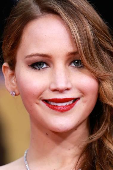 Mehr oder weniger Make-up - Jennifer Lawrence