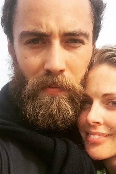 James Middletons Freundin Donna Air zeigt auf ihrem Instagram-Profil, wie schön strubbelig der Bart von Herzogin Catherines Bruder mittlerweile ist.