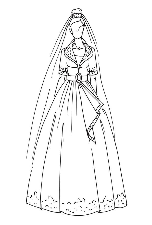 Brautkleid von Königin Rania von Jordanien, Hochzeit am 10. Juni 1993  Highlight dieses Kleides waren die auffälligen goldenen Stickereien sowie ein verzierter Gürtel. Dazu trug Rania Handschuhe. Design: Bruce Oldfield