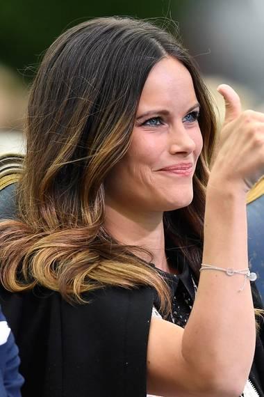 Frischer Wind in den Haaren: Bei den Feierlichkeiten am Victoriatag konnte man den schicken Ombré-Look von Prinzessin Sofia besonders schön sehen. Den trägt sie seit ein paar Wochen.