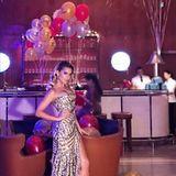 So feiert Moderatorin Sylvie Meis Silvester in Dubai.