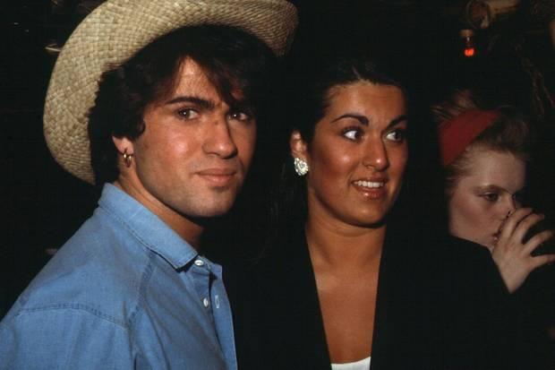 George Michael (†) und seine Schwester Melanie in den 1980ern: Sie begleitete den Musiker auf zahlreiche Tourneen als seine Haarstylistin.