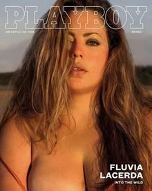 Fluvia Lacerda ist das erste Plus-Size-Model, welches ein Playboy-Cover ziert.