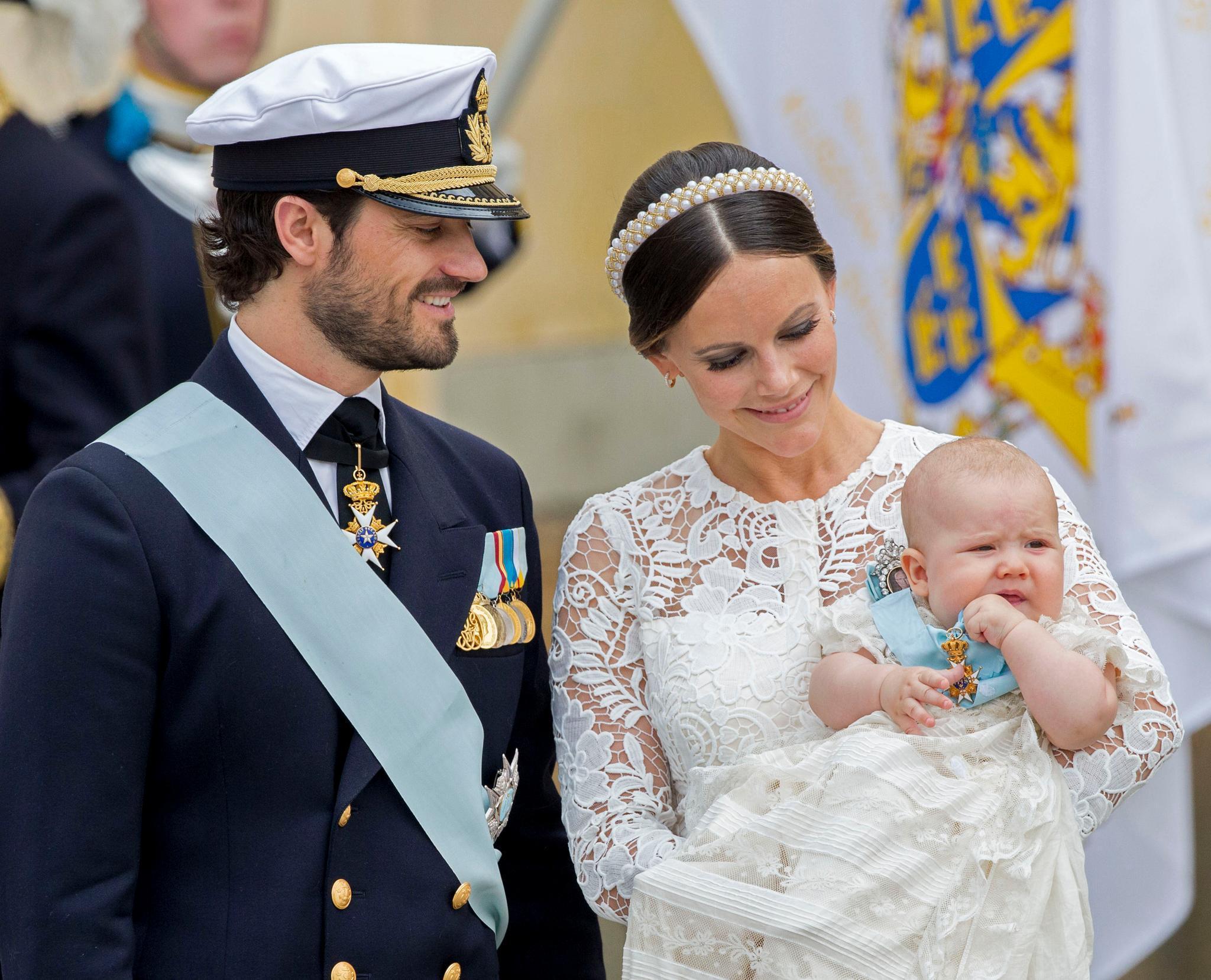 Prinz Carl Philip, Prinzessin Sofia + Prinz Alexander