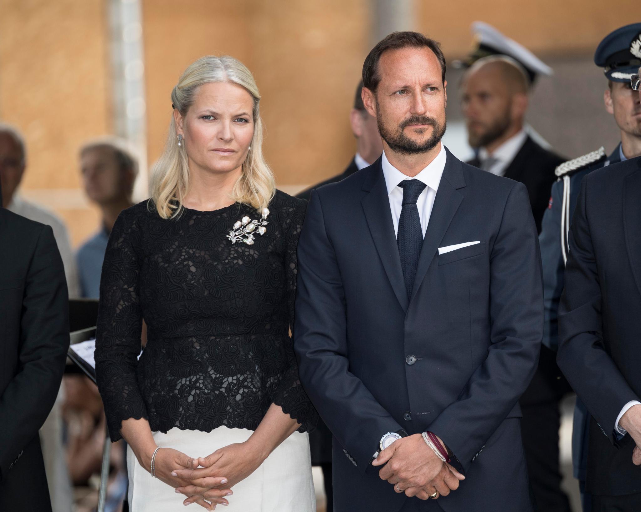 Prinzessin Mette-Marit + Prinz Haakon