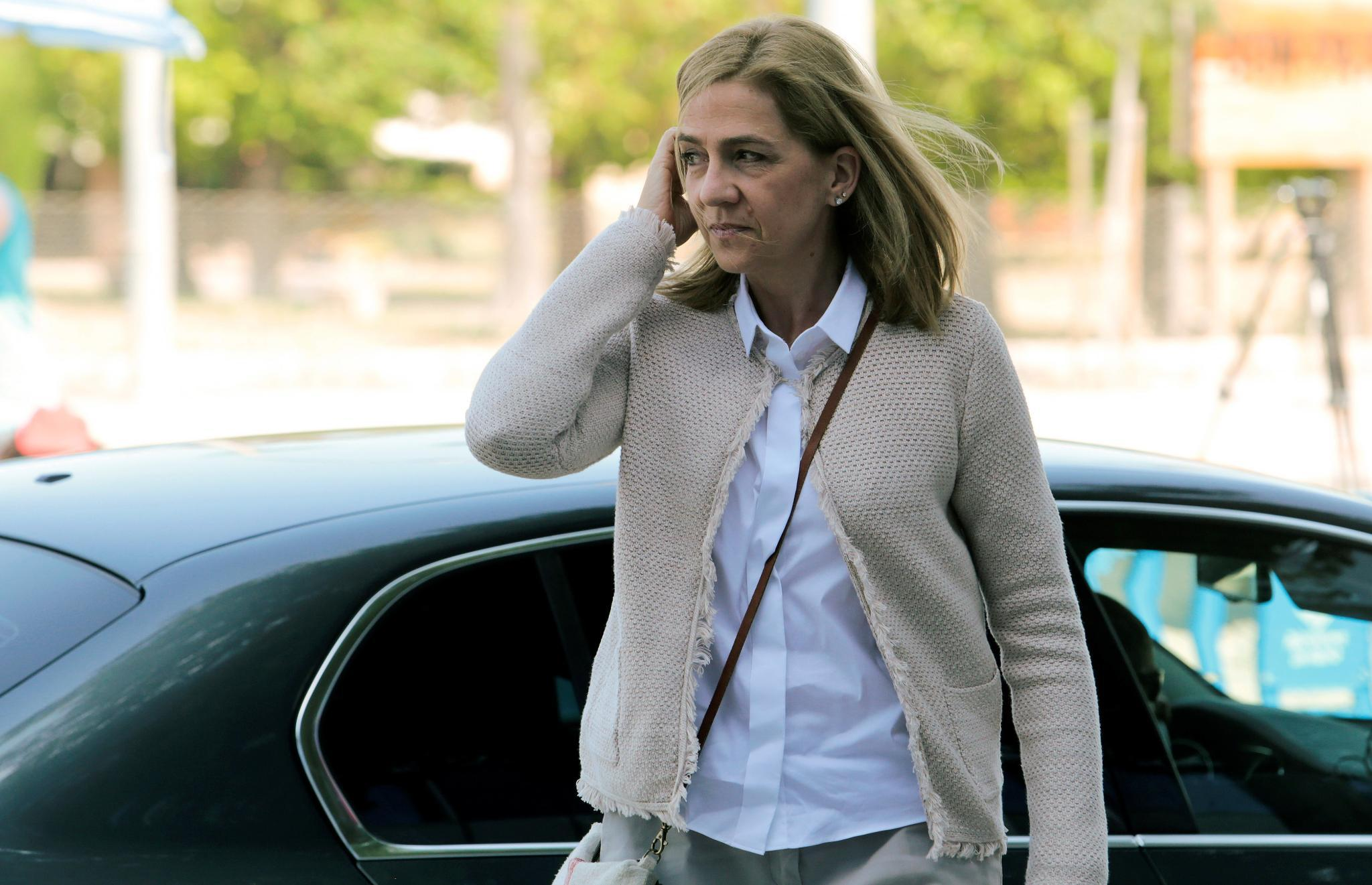 Prinzessin Cristina vor dem Gericht in Palma im Juni 2016