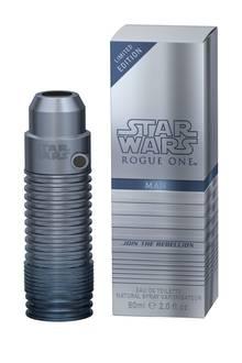 """Zum Kinostart von """"Rogue One – A Star Wars Story"""" gibt es zur Weihnachtszeit die limitierte Dauft-Serie """"Star Wars Rogue One Perfumes"""". Der Flakon erinnert passend zum Film an ein Laserschwert. EdT, 60ml, ca. 24 Euro."""