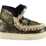 So kriegen kleine Fashionistas garantiert keine kalten Füße: Eskimo-Boots mit Futter aus Schaffell von Mou, ca. 270 Euro