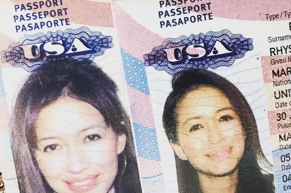 Mara Lane beweist mit diesem Pass, dass sie und Jonathan Rhys Meyers geheiratet haben