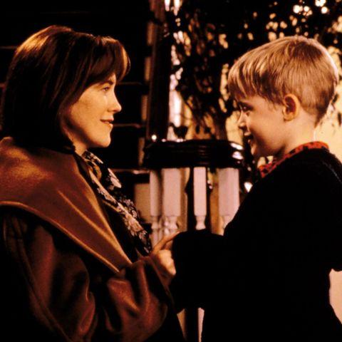 Catherine O'Hara und Macaulay Culkin