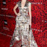 Auch Schauspielerin Julianna Margulies glänzt in einer Carolina Herrera Robe.