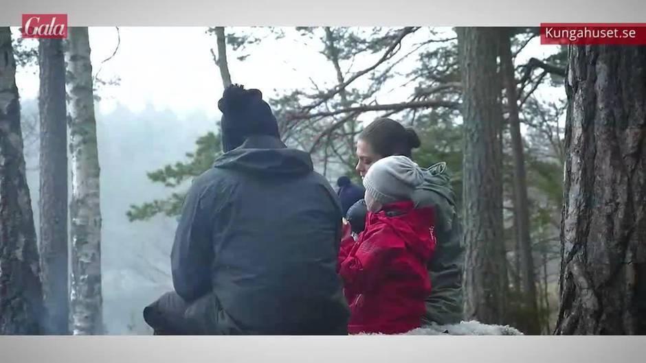 Prinzessin Victoria + Prinz Daniel: Süße Videobotschaft mit Estelle und Oscar