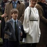 James, Viscount Severn, scheint die Vorliebe seiner Familie für Pferderennen nicht zu teilen. Dem Queen-Enkel ist dafür mehr nach Grimassenschneiden.