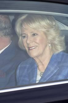 20. Dezember 2016  Prinz Charles und Herzogin Camilla fahren ebenfalls vor.