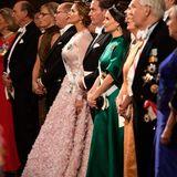 Der Blick in die erste Reihe, wo die anderen Königskinder mit ihren Partner sitzen.