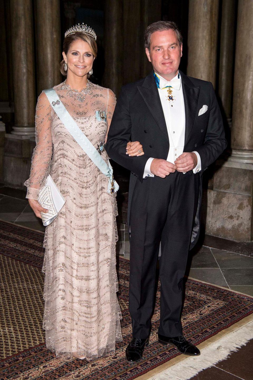 Prinzessin Madeleine mit Ehemann Chris O'Neill