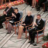 König Harald, Königin Sonja, Prinzessin Mette-Marit und Prinz Haakon