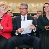 Oktober: Königin Rania  Königin Rania besucht den Tag der deutschen Industrie in Berlin.