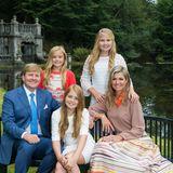 """24. Dezember 2016  Die niederländische Königsfamilie wünscht schöne Feiertage: """"Een gezegende kerst en een gezond en voorspoedig 2017"""""""