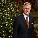 24. Dezember 2016  Aus dem Schloss von Brüssel wendet sich König Philippe an sein Volk. Aufgezeichnet wurde die Rede bereits einige Tage vor Weihnachten.