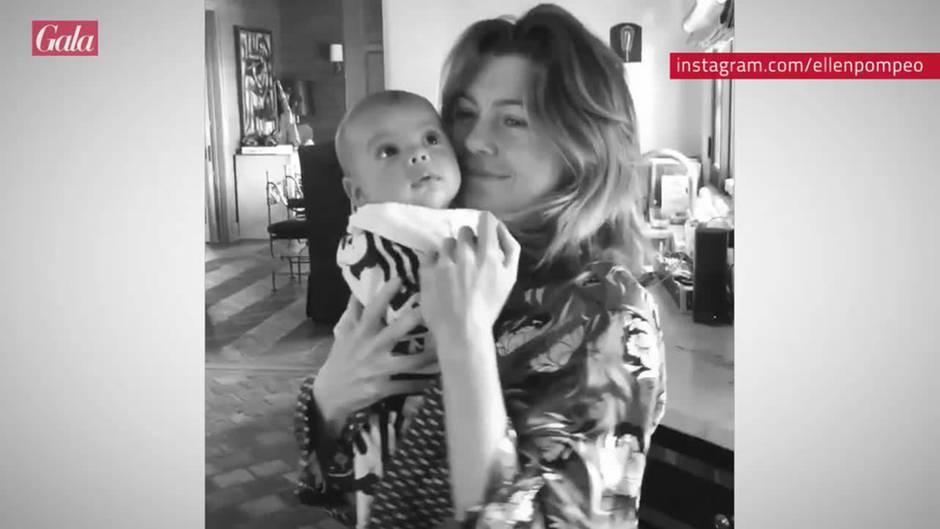 Ellen Pompeo: Tanz mit Söhnchen Eli Christopher