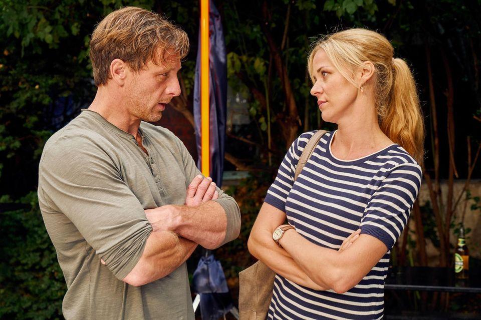 """Hendrik Duryn und Jessica Ginkel in """"Der Lehrer"""""""