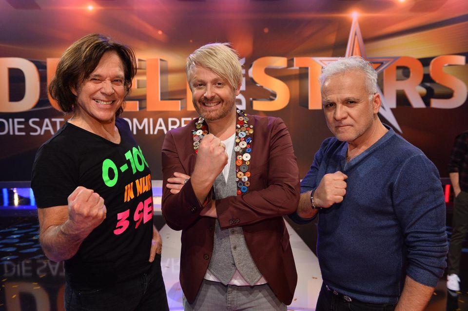 """Jürgen Drews, Ross Anthony und Nino De Angelo bei """"Duell der Stars"""""""